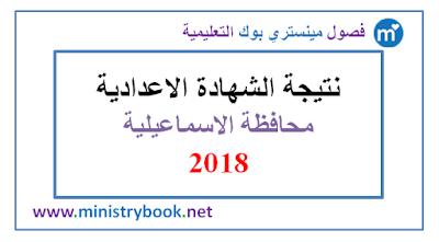 نتيجة الشهادة الاعدادية محافظة الاسماعيلية 2018 برقم الجلوس