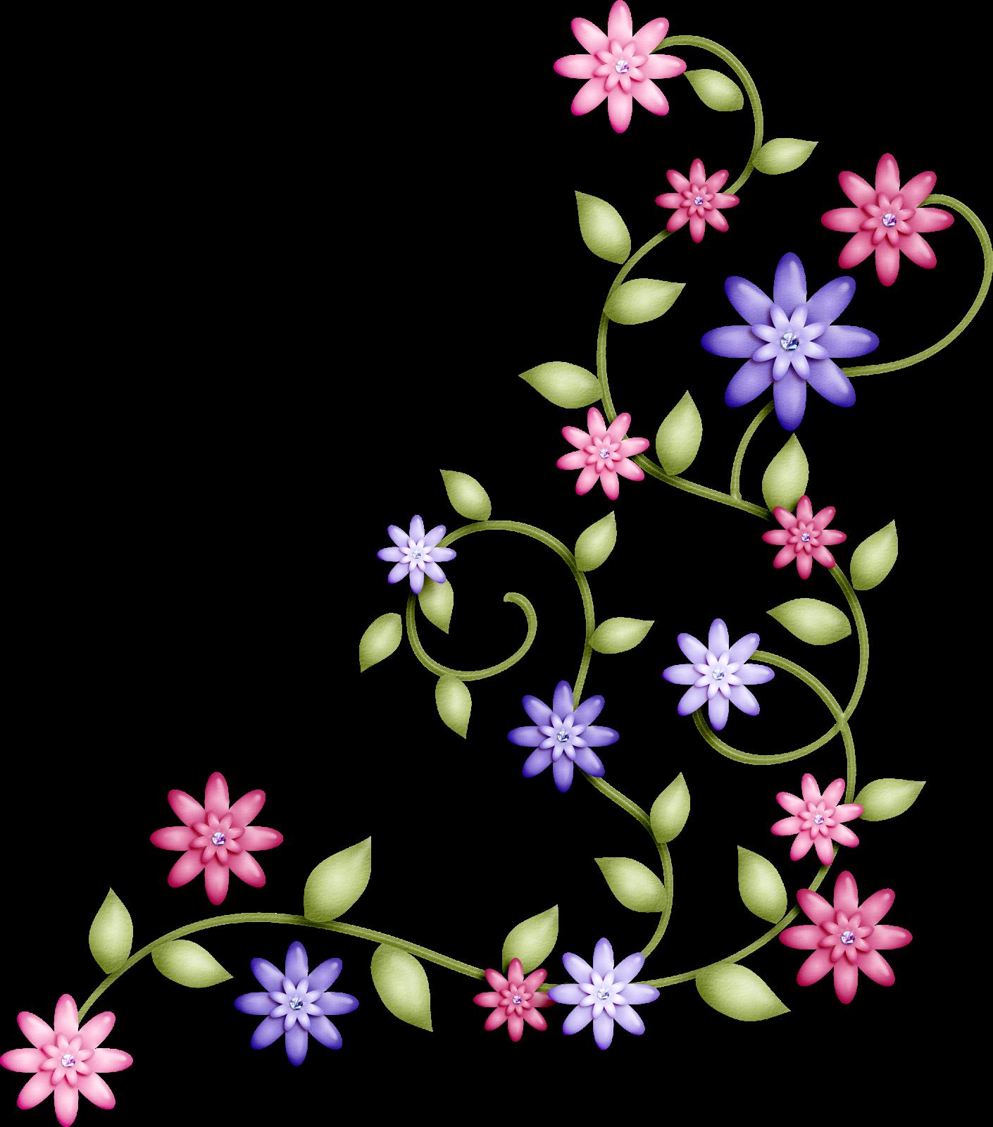 Imagenes de flores en caricatura Imagui
