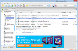 EML Viewer Pro, the email viewer for .eml files. Download a free trial.
