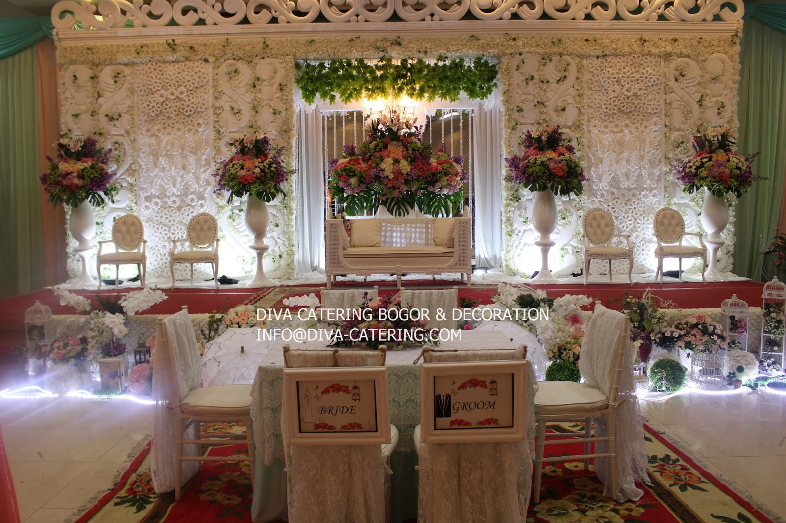 Gallery pelaminan diva catering bogor wedding planner wedding untuk informasi paket service kami bisa menghubungi anie 08129948752 wa email infodiva catering website httpdiva catering junglespirit Gallery
