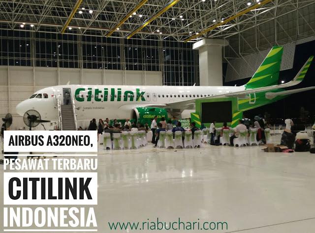 Airbus A320NEO, Pesawat Terbaru Citilink Indonesia