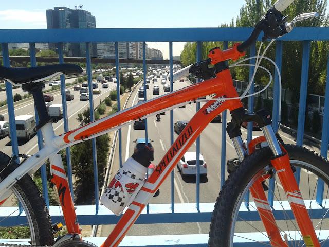 ¿Ir a trabajar en bicicleta en Madrid?