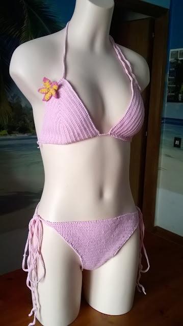 crochet - bikini - tahiti