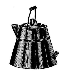 coffee pot vintage image