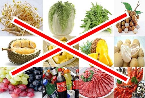 pantangan makanan penderita tipes