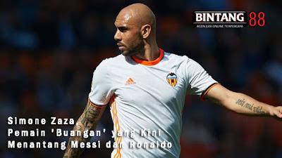 Simone Zaza, Pemain 'Buangan' yang Kini Menantang Messi dan Ronaldo