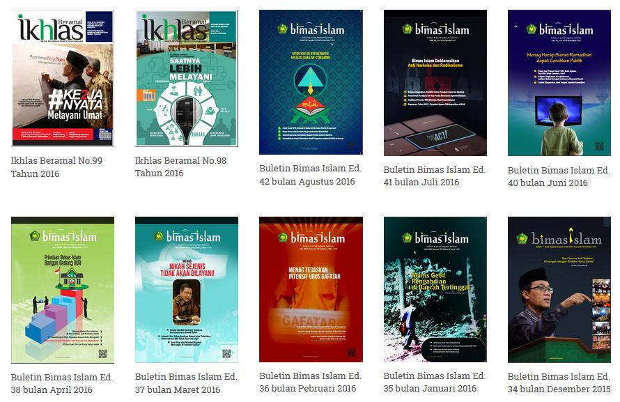 Majalah Digital dari Kemenag