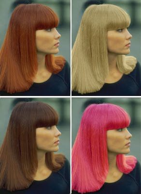 Hairstyle Photo: Change Hair Color Online