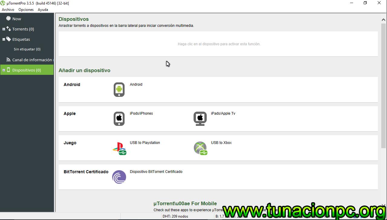 uTorrent Pro Full Español con Activador