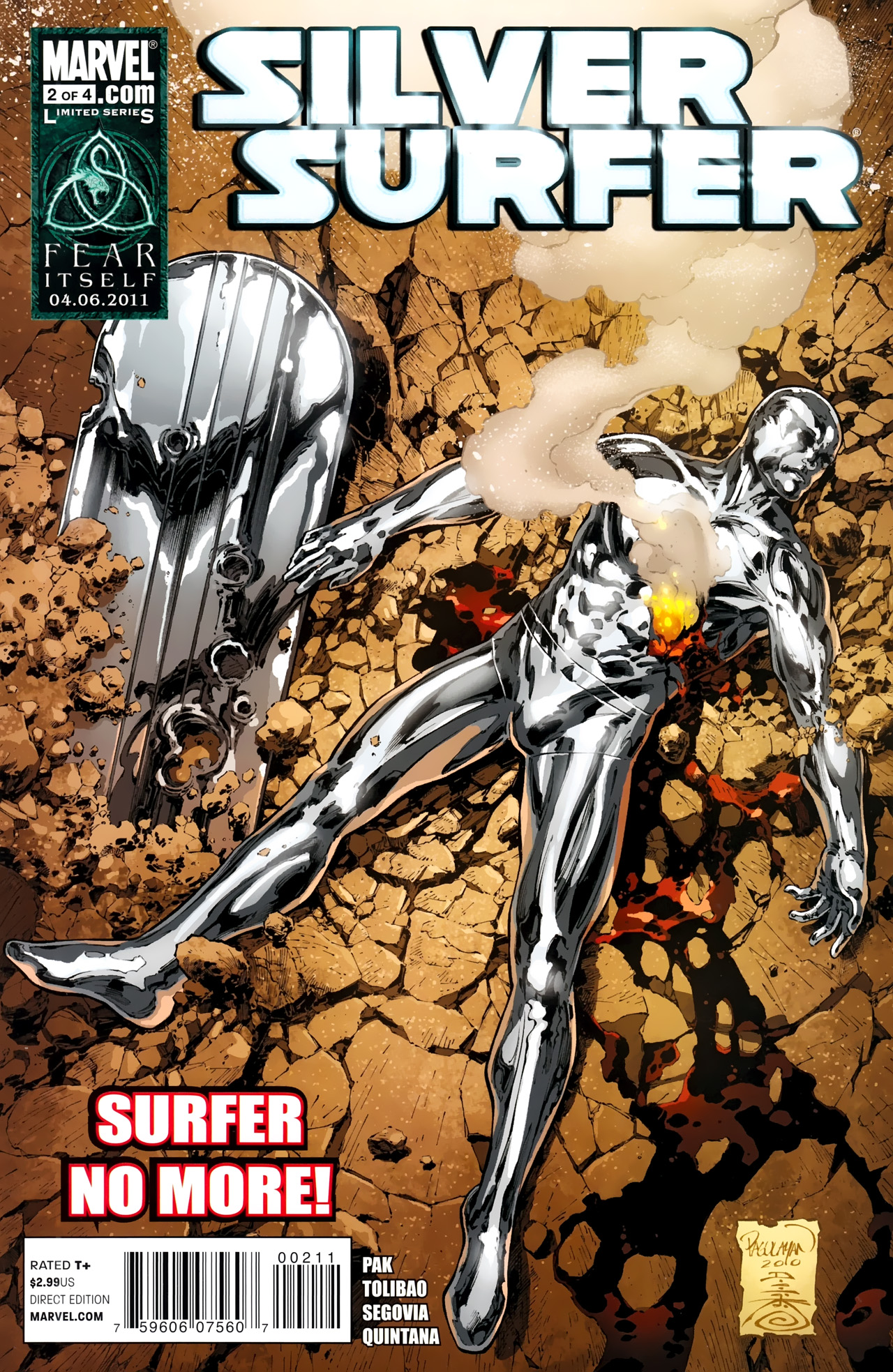 Read online Silver Surfer (2011) comic -  Issue #2 - 1