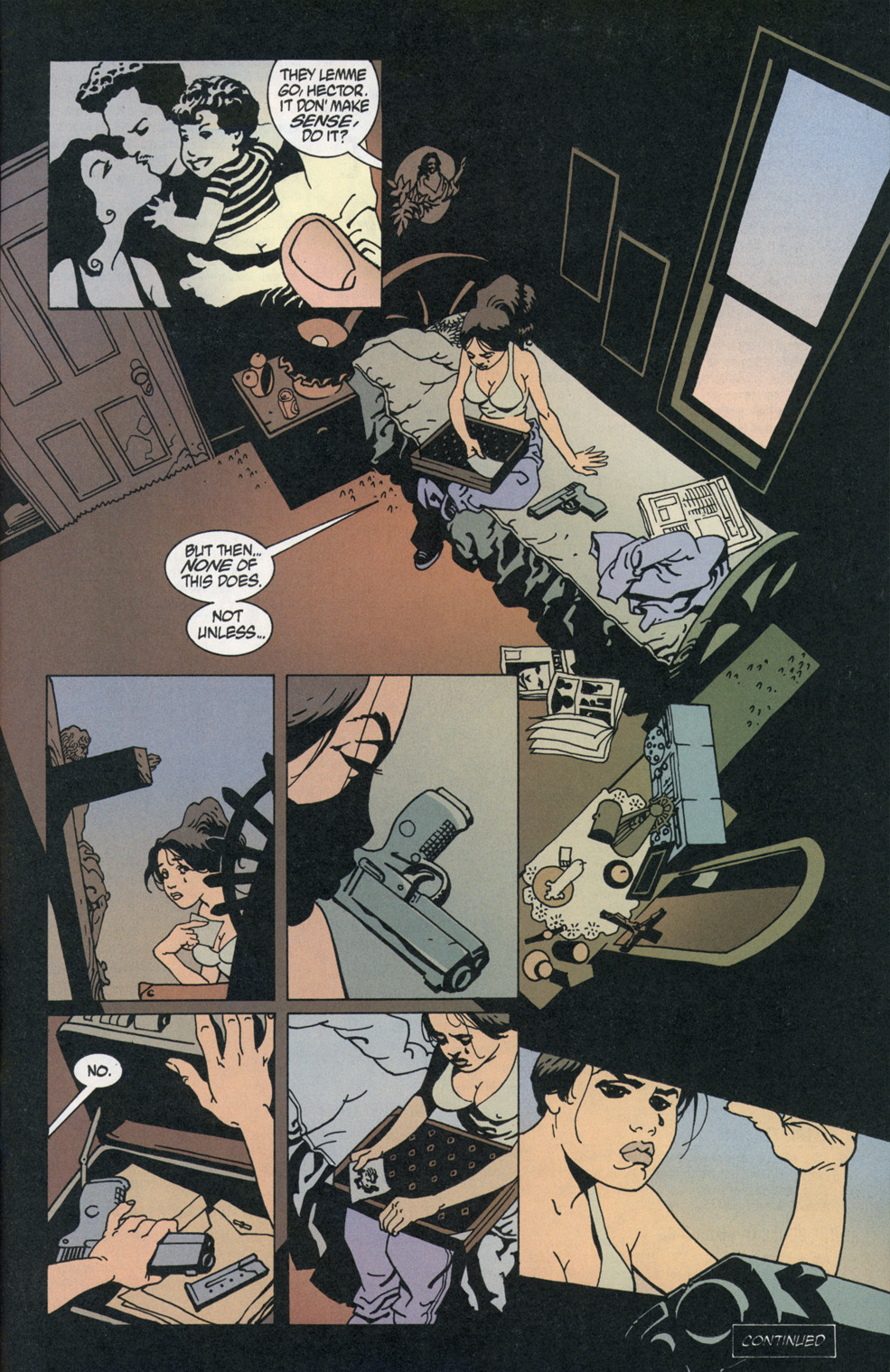 Read online 100 Bullets comic -  Issue #1 - 24