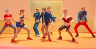 BTS Album Love Yourself: Her, Video Klip DNA