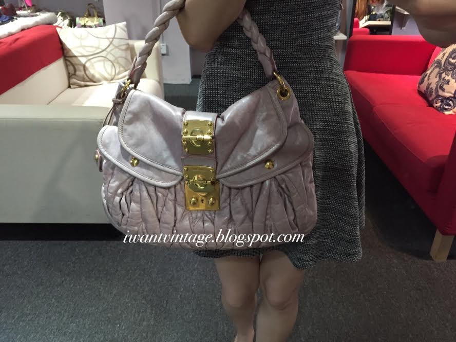 5be0f273fc40 Miu Miu Matelasse Lux Coffer Bag