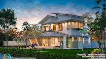 Design Of Ultra Modern Classic Style 4bhk House - Kerala