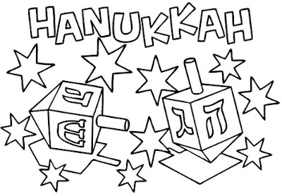 Hanukkah-Color-Pages