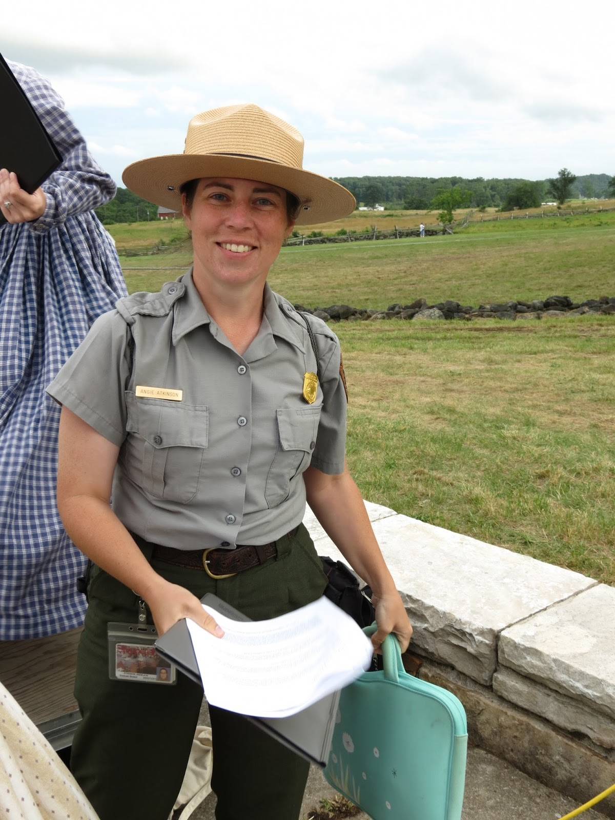 My year of living Rangerously Gettysburg 150  July 2