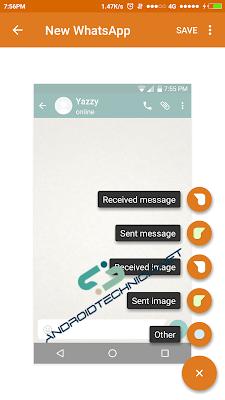 Cara Membuat Percakapan Palsu (Fake Chat) Whatsapp dan Semua Sosial Media