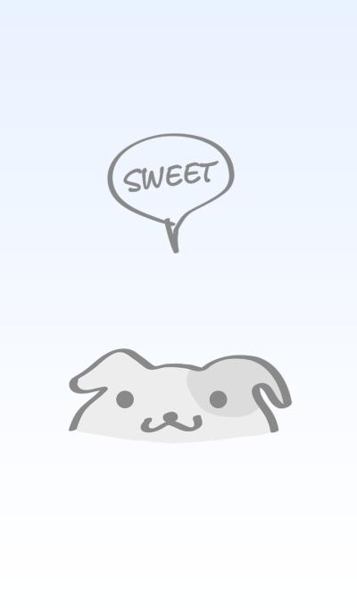 Cute puppy simple theme