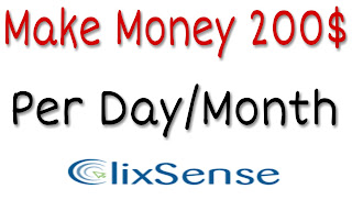 Make Money 200 $ Per Day/Month By ClixSense
