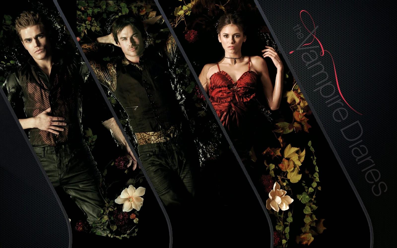 Vampire Diari Damon Elena risalente vita reale