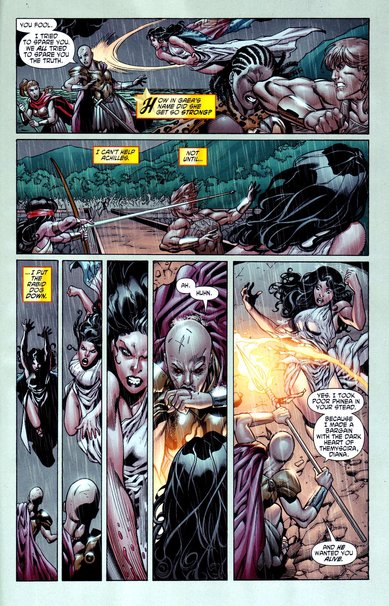 Read online Wonder Woman (2006) comic -  Issue #38 - 22