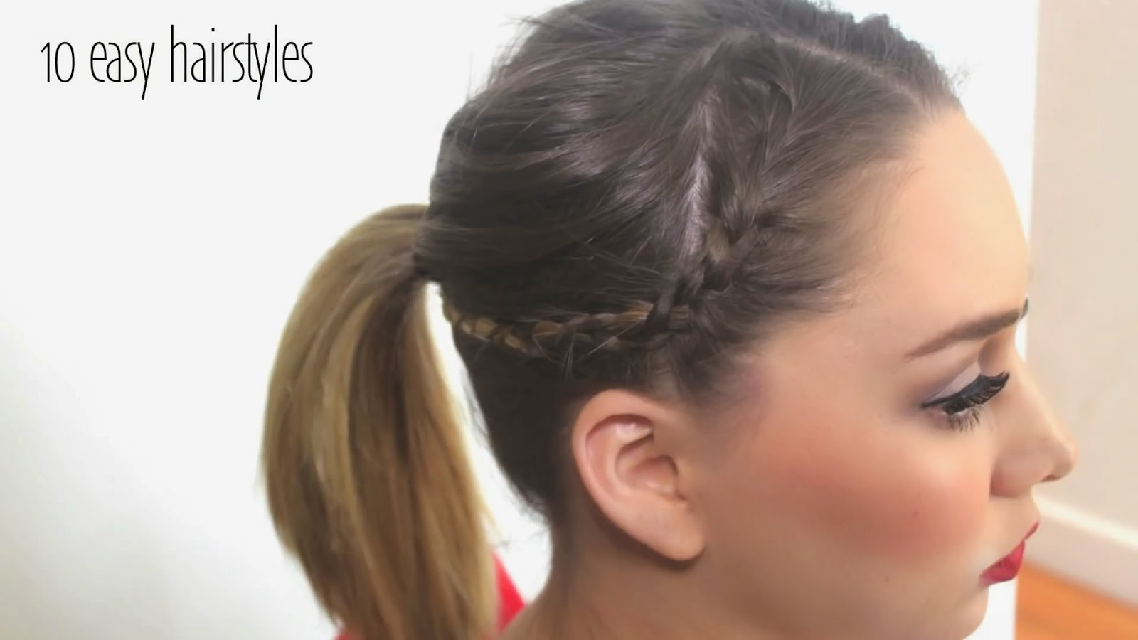 Wondrous Stylevia Top 10 Easy Hairstyles Can Set In 5 Minutes Short Hairstyles Gunalazisus