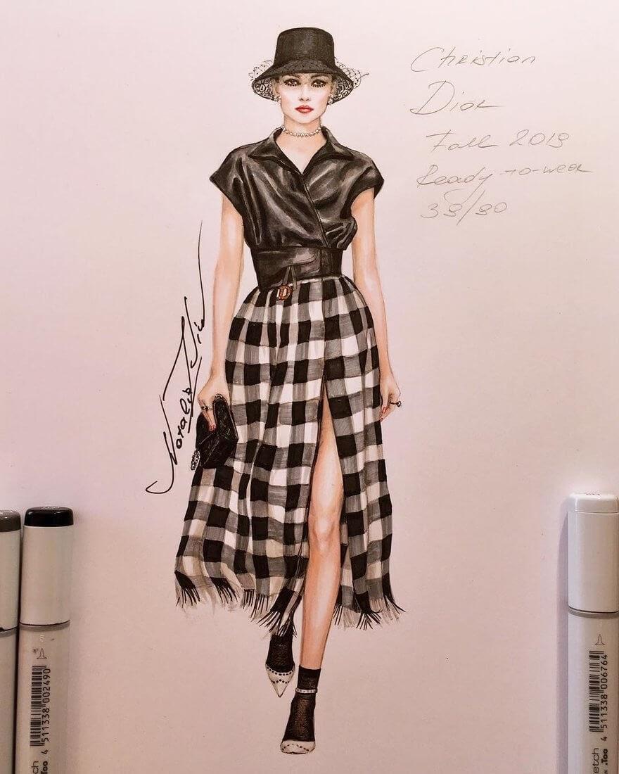 06-Christian-Dior-Fall-2019-NataliaZ-Liu-Designs-of-Fashion-Haute Couture-www-designstack-co