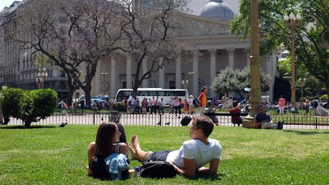 Clima na Argentina no Verão