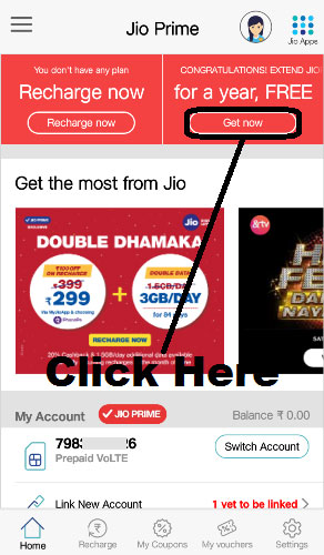 how to jio prime membership free
