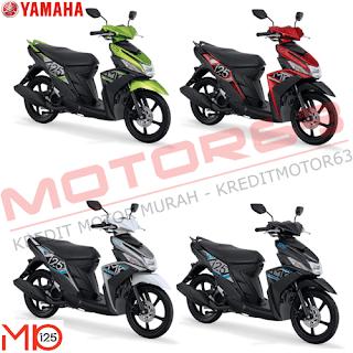 Kredit Motor Yamaha Mio M3 125 Blue Core