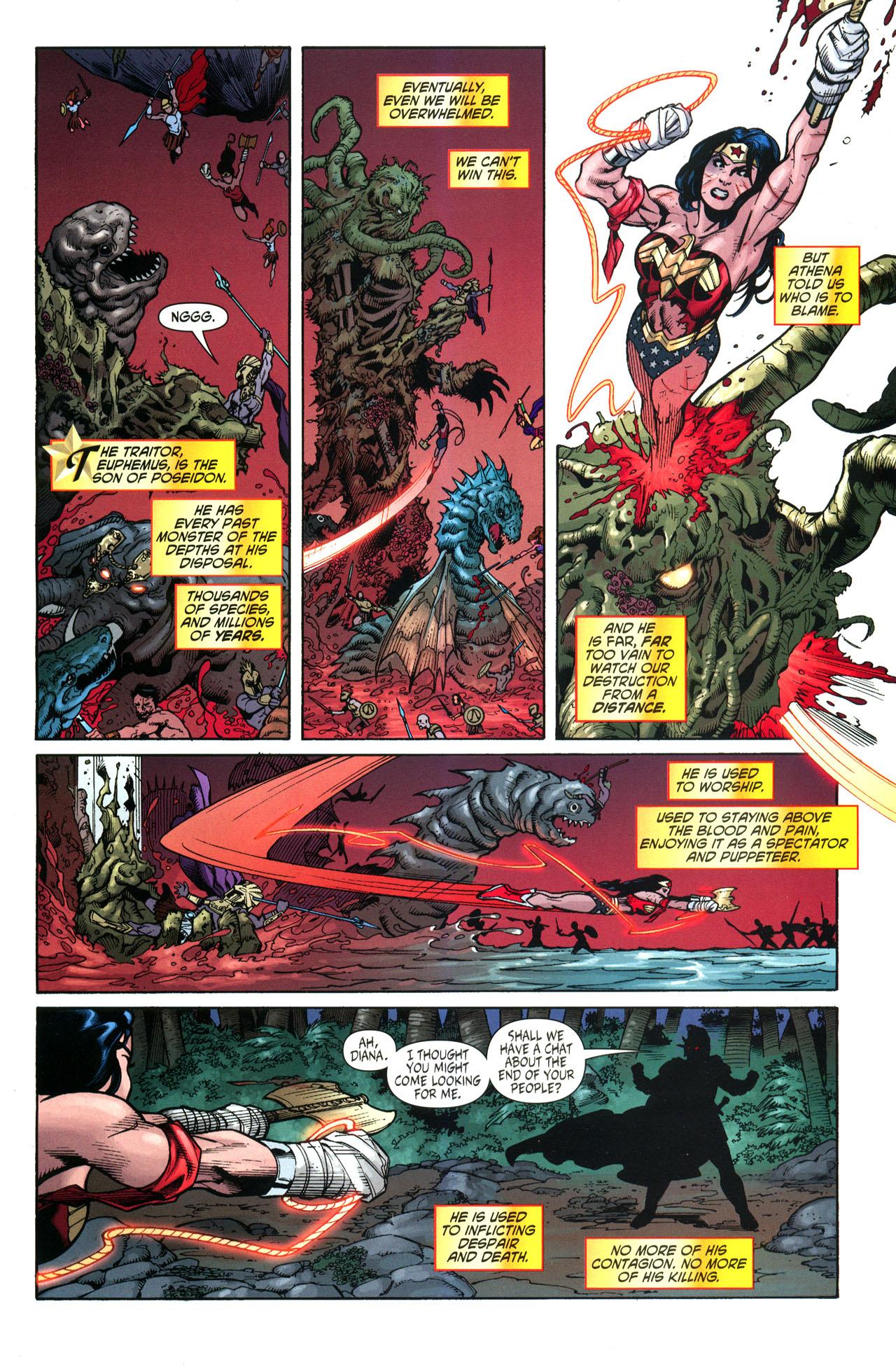 Read online Wonder Woman (2006) comic -  Issue #33 - 18