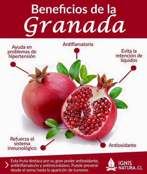 Beneficios de la granada