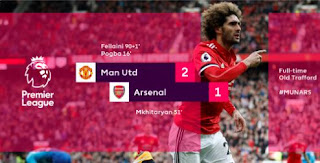 Manchester United vs Arsenal 2-1 Video Gol Highlights