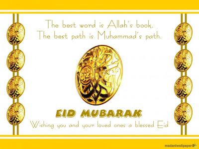 Beautiful Eid Mubarak Picture