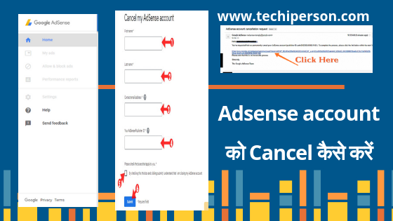 Disapprove Adsense account cancel or delete kaise kare 101% Working