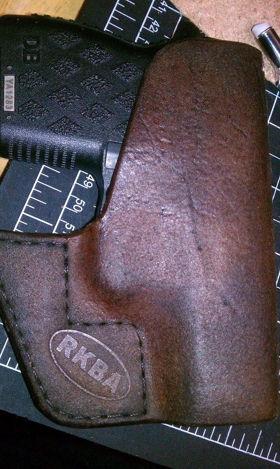 RKBA Holsters: Leather & Kydex Holsters: Diamondback 9mm DB9