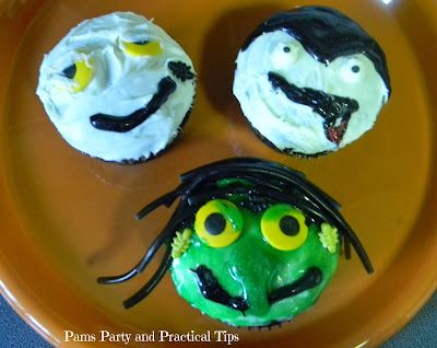 How to make monster cupcakes