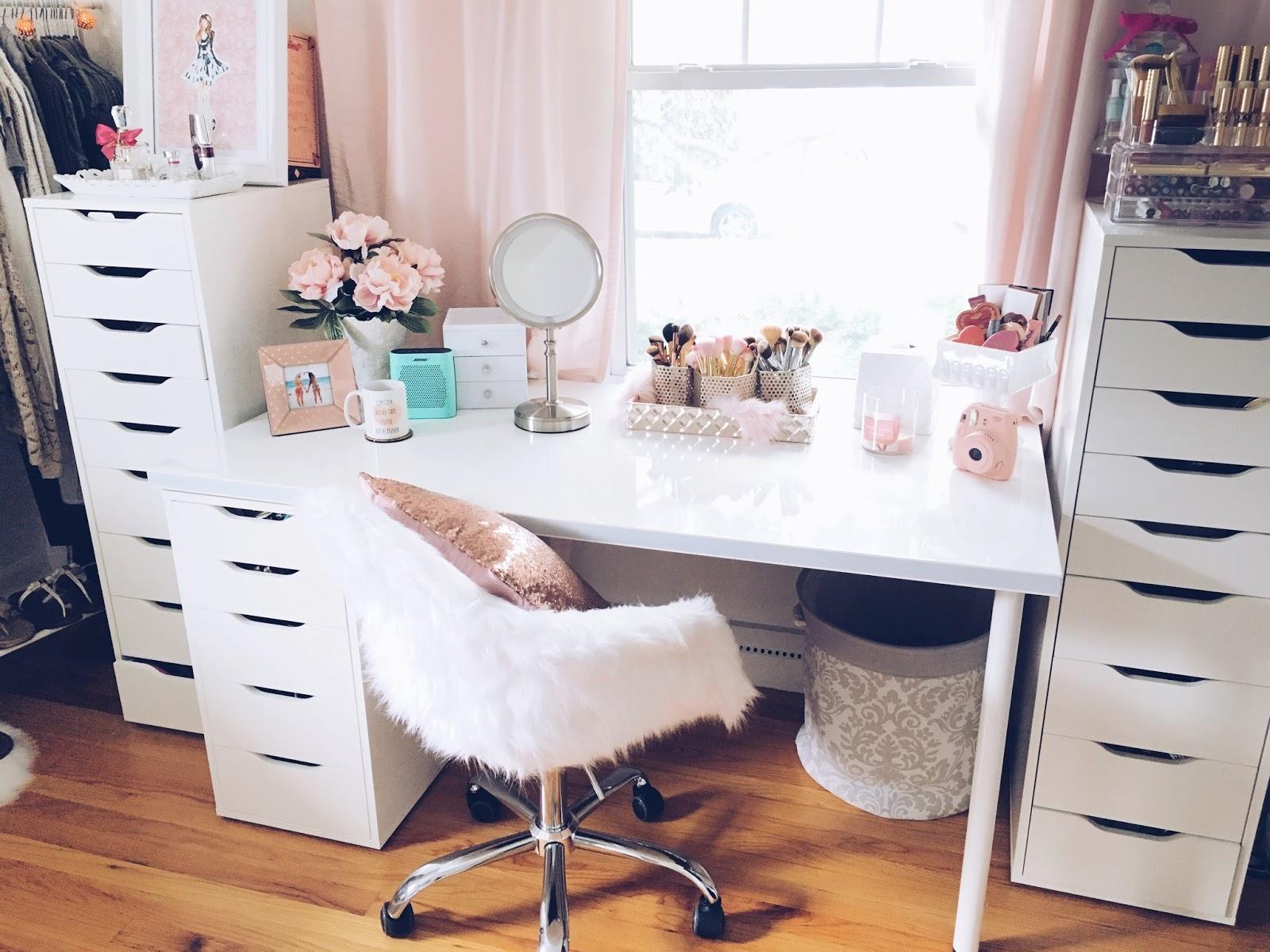 belindaselene beauty room tour. Black Bedroom Furniture Sets. Home Design Ideas