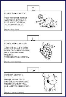 alfabeto com música