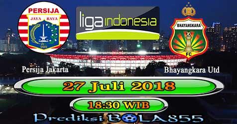 Prediksi Bola855 Persija Jakarta vs Bhayangkara Utd 27 Juli 2018