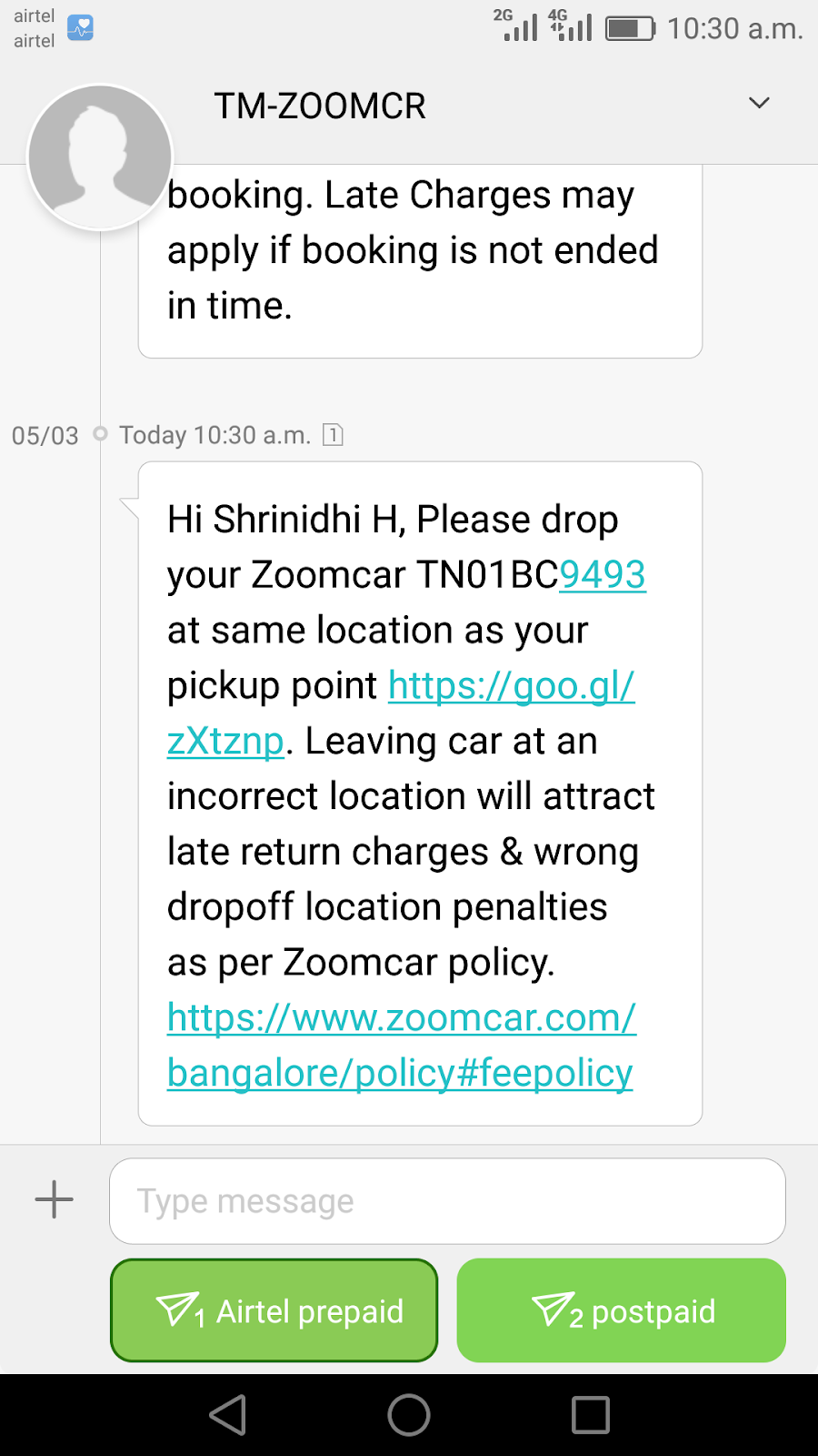 Zoomcar Policy Changes Without Fuel Rental More Enidhi India
