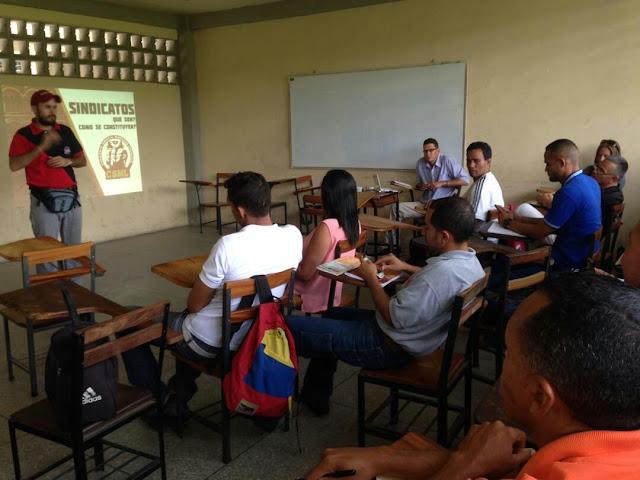 La CSML da inicio a talleres sindicales en Aragua