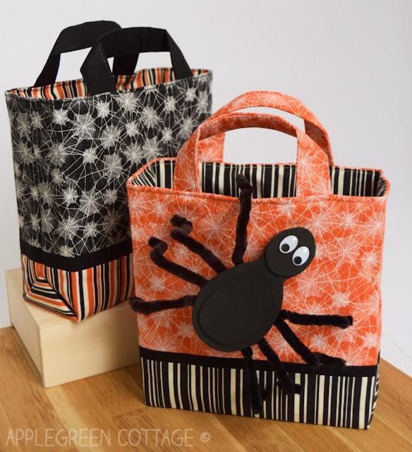 Halloween Trick Or Treat Bag - DIY Sewing Tutorial