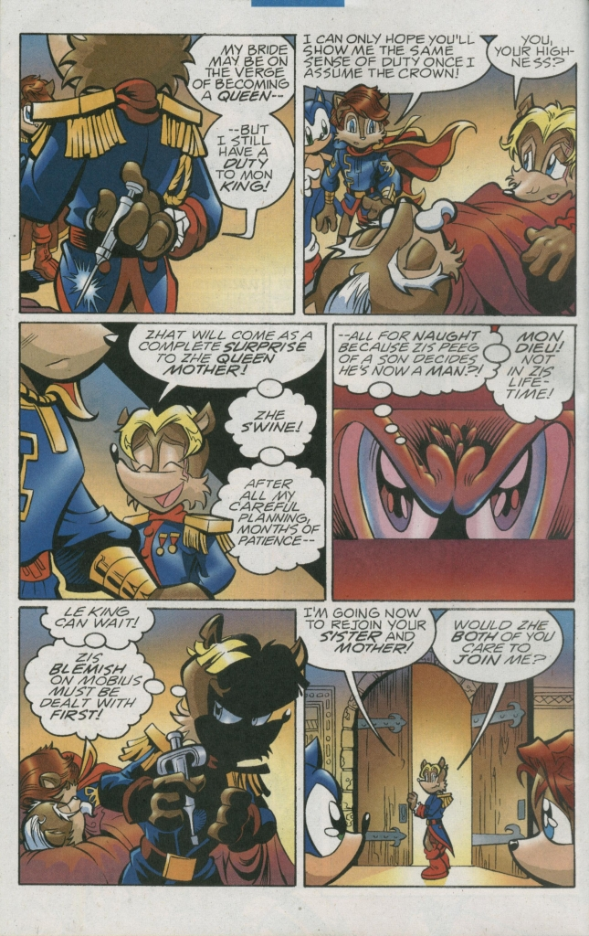 Read online Sonic The Hedgehog comic -  Issue #156 - 14