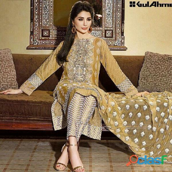 Pakistani Lawn Suits Price: August 2016
