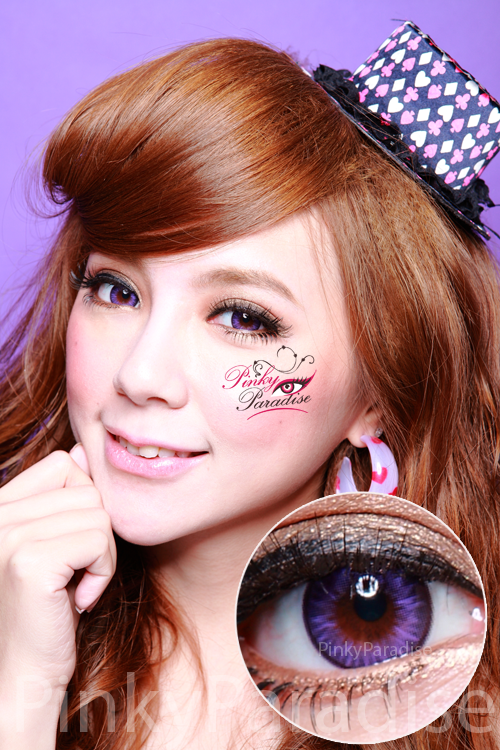 Geo Bella Violet Circle Lenses (Colored Contacts)