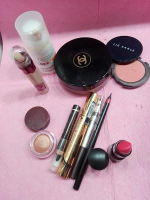 IMagen Productos utilizados para el look Dusk