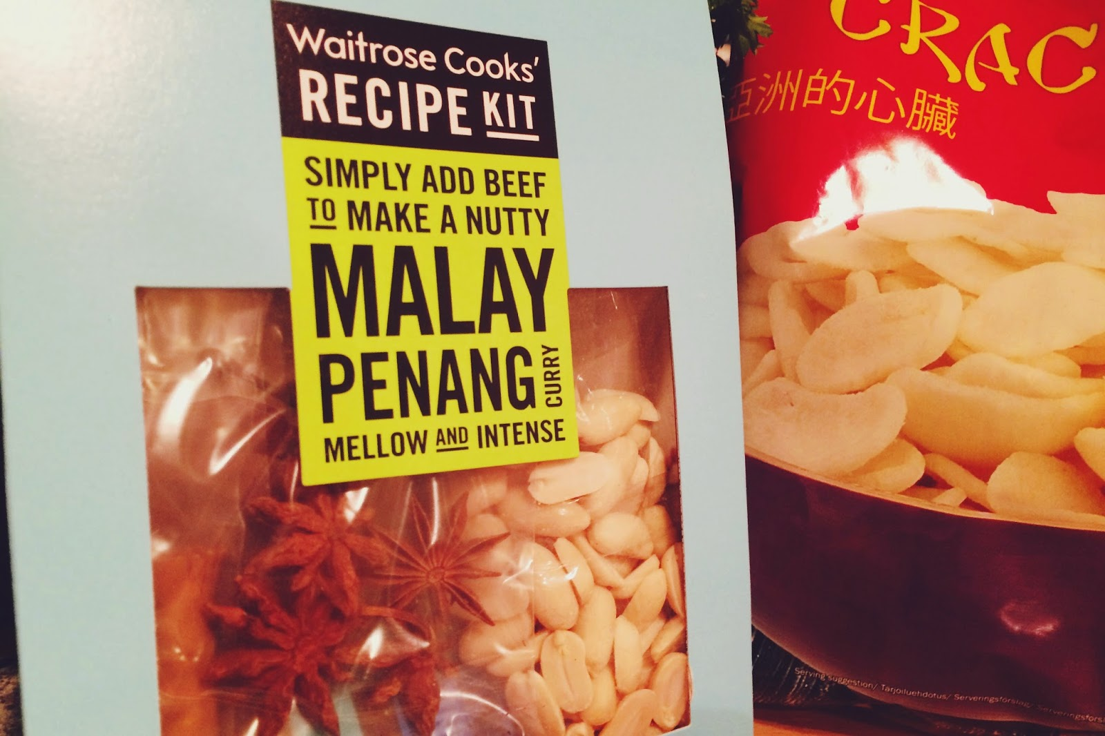 Waitrose Malay Penang kit, Waitrose recipe kit review, FashionFake