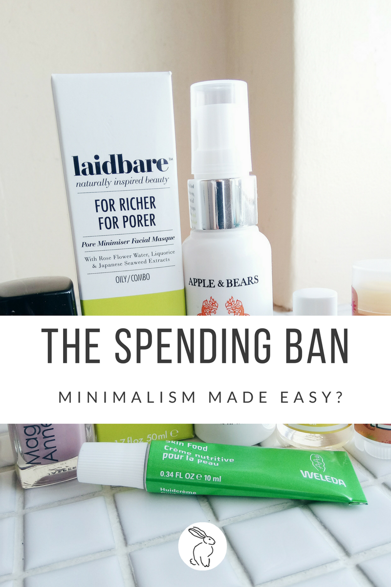 The Shoestring Chic Spending Ban