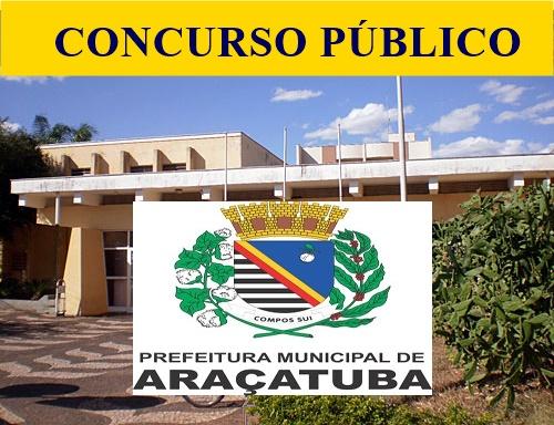 Apostilas PDF Concurso da Prefeitura de Araçatuba 2018